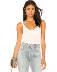 Cupcakes And Cashmere - Broderick Tank In Ivory - Lyst