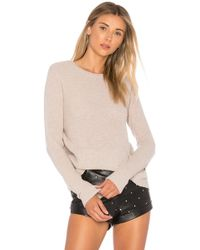 Autumn Cashmere - Reversible Crossover Sweater - Lyst