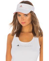 adidas By Stella McCartney - Tennis Visor In White. - Lyst