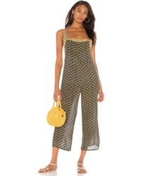 6eb1ac8402fa Amuse Society - Sunset Drive Jumpsuit In Black - Lyst