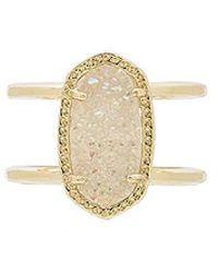 Kendra Scott - Elyse Ring In Metallic Gold - Lyst