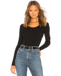 Vince - Ribbed U Back Sweater - Lyst