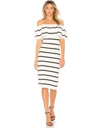 Line & Dot | Off The Shoulder Dress | Lyst