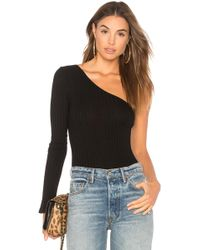 Only Hearts - Wide Wale Rib One Shoulder Bodysuit - Lyst