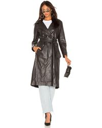 Lamarque - Erma Trench In Black - Lyst