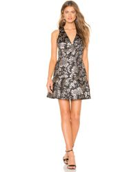 Alice + Olivia - Marleen Fit And Flare Dress - Lyst