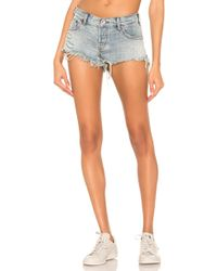 One Teaspoon - Bonita Low Waist Short - Lyst