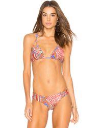 Luli Fama - Guadalupe Bikini Top - Lyst