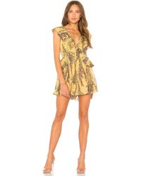 Keepsake - Light Up Playsuit In Yellow - Lyst