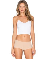 Free People - Skinny Strap Cropped Camisole - Lyst