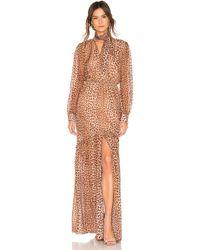 Rachel Zoe - Verushka Dress In Brown - Lyst