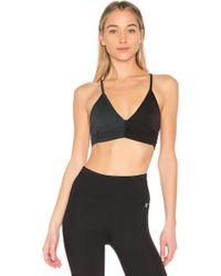 Body Language - Scrunchy Sports Bra In Black - Lyst