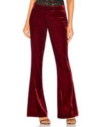 Rachel Zoe - Hall Trousers (ruby) Women's Casual Trousers - Lyst