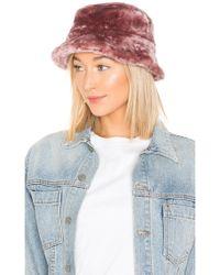 Brixton - Hardy Faux Fur Bucket Hat - Lyst