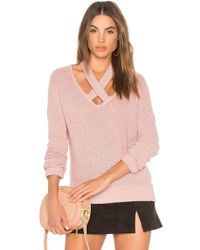 Lamade - Viera Sweater In Pink - Lyst