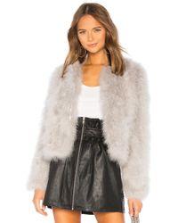 Lamarque - Deora Jacket In Gray - Lyst