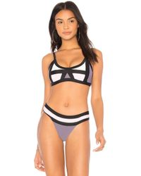 Pilyq - Sporty Bikini Top - Lyst