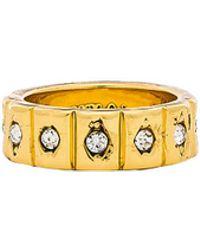 Luv Aj - The Evil Eye Cigar Pinky Ring In Metallic Gold. - Lyst