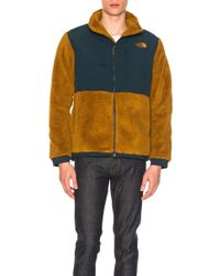 The North Face - Novelty Denali Jacket In Neutrals,brown,green - Lyst