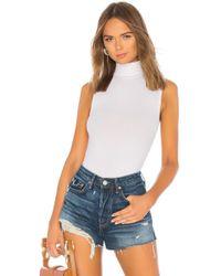 n:PHILANTHROPY - Reese Bodysuit In White - Lyst