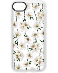 Casetify | White Floral Iphone 6/7/8 Case | Lyst