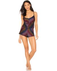 Only Hearts - Riley Chevron Romper - Lyst