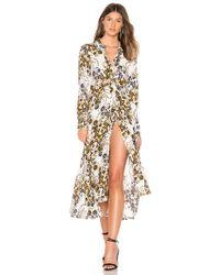 7540f80e15a7 Free People - Tough Love Floral Shirtdress - Lyst