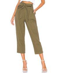 AG Jeans - Darena Pant In Olive - Lyst