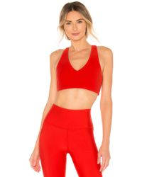 169a5742b4 PUMA Ultimate Bra in Red - Lyst