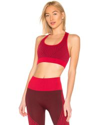 Alala - Wave Seamless Sports Bra In Red - Lyst