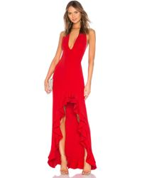 Lyst Lovers Friends X Revolve Leah Gown In Black