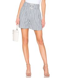 Free People - Utility Short In Blue - Lyst