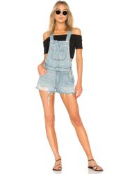 Lovers + Friends - Scotty Overall In Blue - Lyst