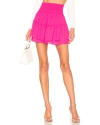 Krisa - X Revolve Smocked Skirt - Lyst