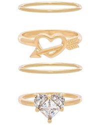8 Other Reasons - Tainted Love Ring Set - Lyst
