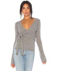 874a785dce7863 Autumn Cashmere - X Revolve Asymmetric Tie Sweater - Lyst