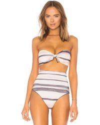 Cali Dreaming - Nubby Bandeau Top - Lyst