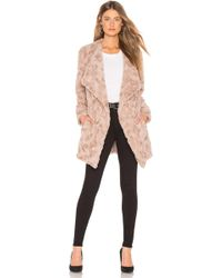 BB Dakota - Tucker Faux Fur Jacket In Tan - Lyst
