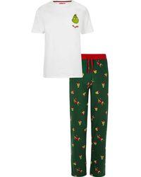 River Island - The Grinch Pyjama Set - Lyst