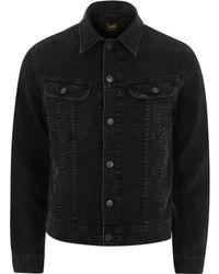 River Island | Black Lee Slim Fit Denim Jacket Black Lee Slim Fit Denim Jacket | Lyst