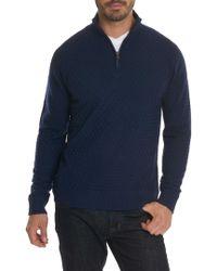 Robert Graham - American Beech 1/4 Zip Sweater - Lyst