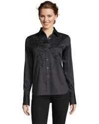 Robert Graham - Bianca Embroidered Shirt - Lyst