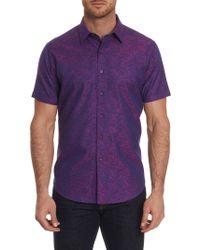 Robert Graham - Craftsman Short Sleeve Shirt - Lyst