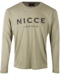 Nicce London - Core Keyline Ls Tee - Lyst