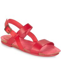 35b1f0a120cd6 Betty London Ikari Women s Sandals In Red in Red - Save 8% - Lyst