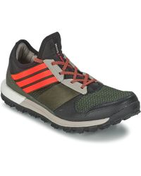 417dde176fb6 Adidas By Raf Simons Black Response Trail Sneakers in Black for Men ...