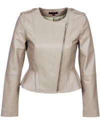 Rene' Derhy - Roulade Leather Jacket - Lyst