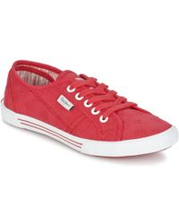 Pepe Jeans - Aberlady Anglaise Shoes (trainers) - Lyst