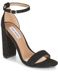 7e25c6c2704 Steve Madden - Carrson Sandals - Lyst · Steve Madden - Carrson Women s  Sandals In Black ...