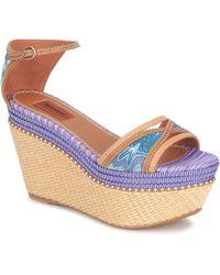Missoni - Tm26 Sandals - Lyst